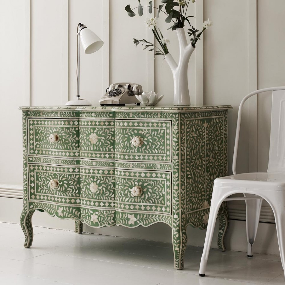 Mother of pearl furniture